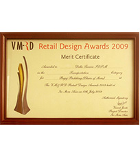 VMRD Retail Design Award for Bajaj Probiking 2009