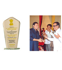 Daman Development Award 2010 by U.T.Administration of Daman & Diu