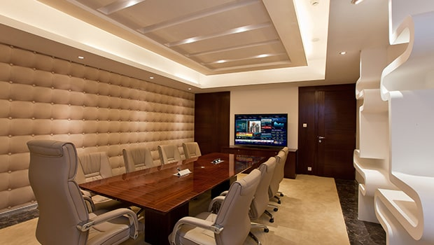 Luxury conference room design