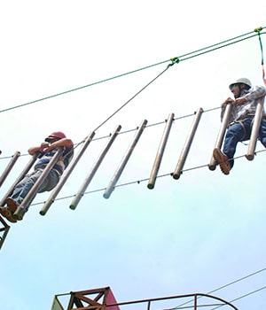 High Rope Challenge at Della