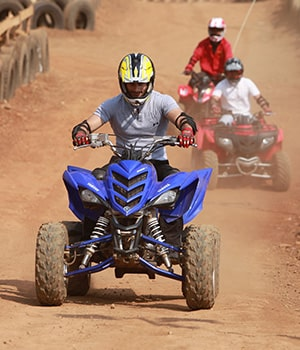 ATV Ride at Della Adventure Park