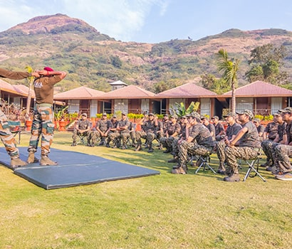 Military Style Training Activities providing at D.A.T.A. Resort