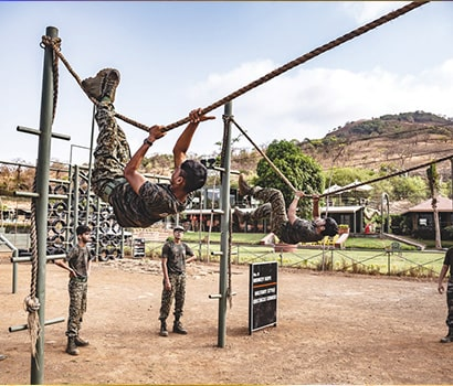 Military Style Obstacle Courses at D.A.T.A. Resort