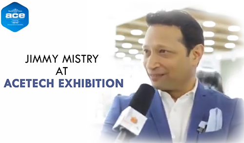 Jimmy Mistry at ACETECH Exhibition