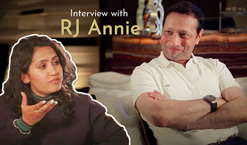 Jimmy Mistry's Interview with RJ Annie
